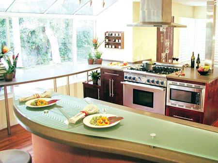 Tiện lợi và an toàn với các thiết bị nhà bếp cảm ứng