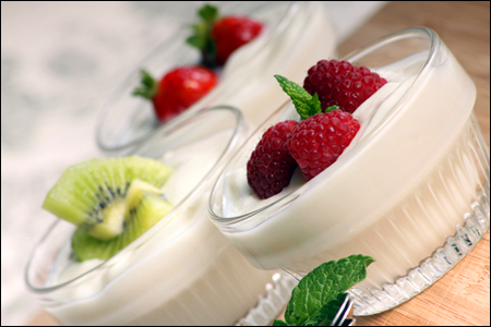 Sử dụng sữa và sữa chua cho các loại nước sốt dùng kèm với những