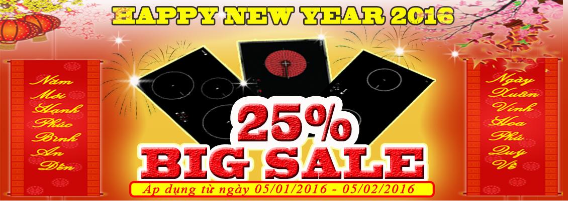 Big sale 25%