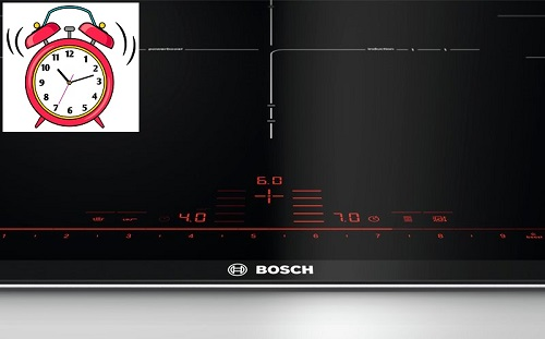 hẹn thời gian bếp từ Bosch PID675DC1E
