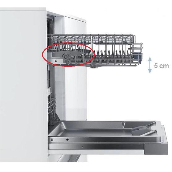 Đánh giá máy rửa bát Bosch SMS25KI00E review cách sử dụng giàn RackMatic