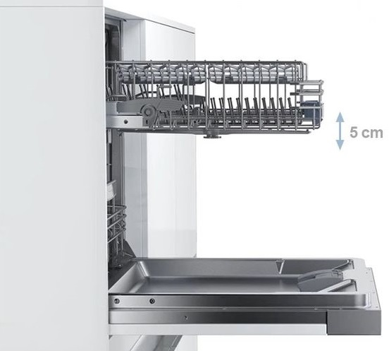 Đánh giá máy rửa bát Bosch SMV68MX03E có tốt không với giàn RackMatic
