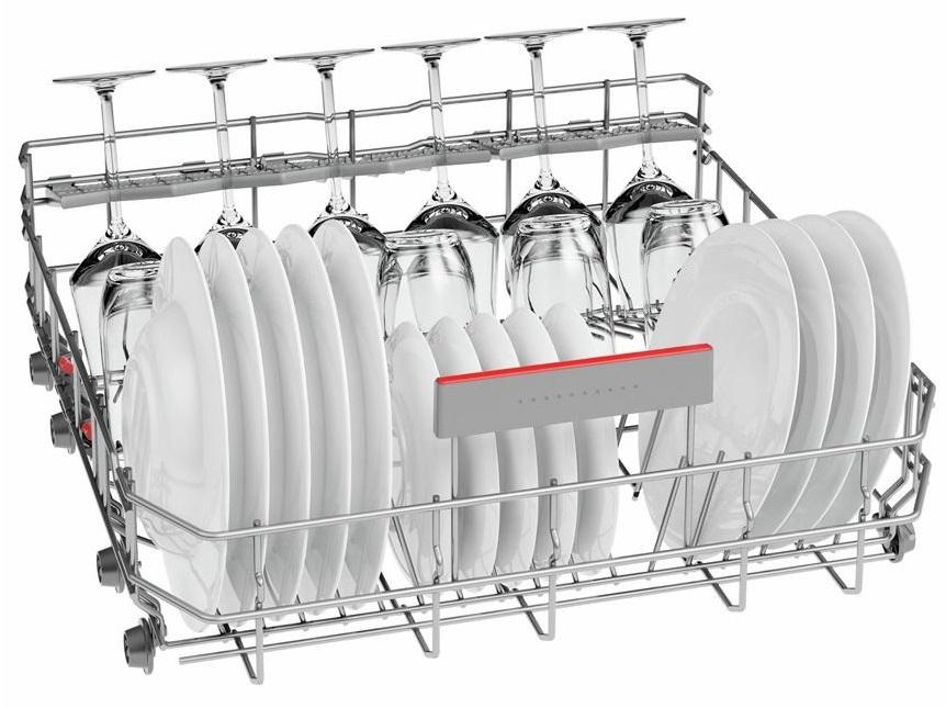 đánh giá máy rửa bát Bosch SMS46MI05E - Khay xếp VarioFLex Pro linh hoạt