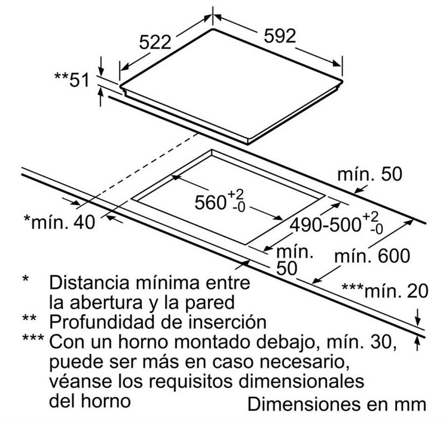 Bản vẽ kỹ thuật Bosch PIJ651FC1E