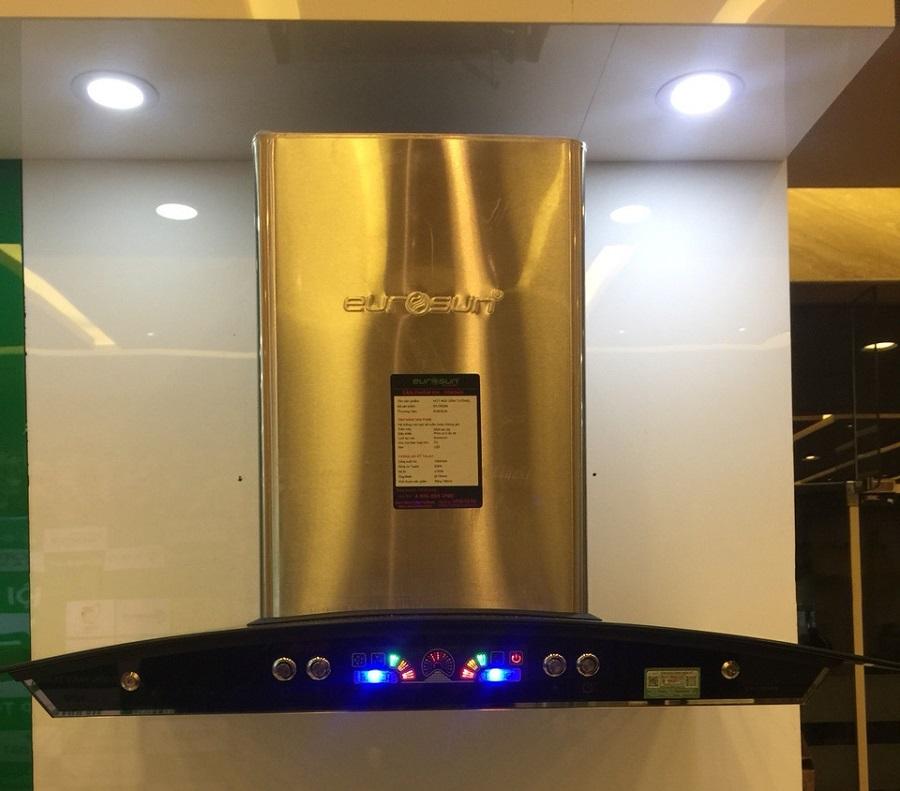 Đánh giá máy hút mùi Eurosun EH-70K06S chất liệu Inox siêu bền