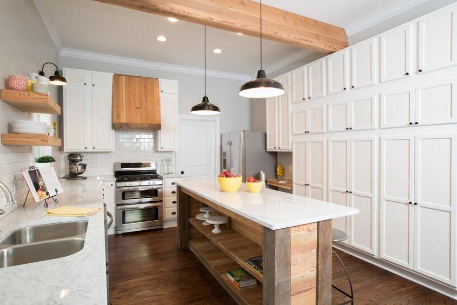 Căn bếp hiện đại thiết kế tối giản