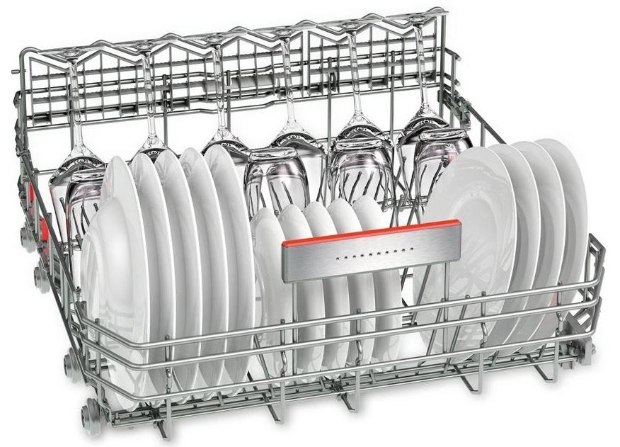 Đánh giá máy rửa bát Bosch SMS68TI02E có tốt không - Dàn VarioFLexPro sắp xếp bát đĩa đa năng