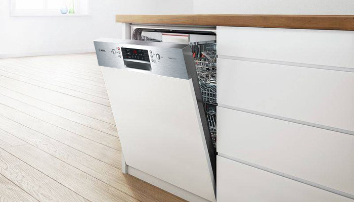 Bosch SMI46KS01E máy rửa bát tinh tế và hiện đại