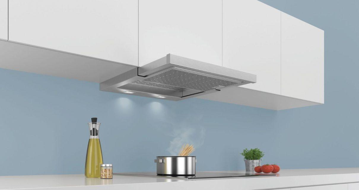 Gian bếp nhà mình hợp với kiểu máy hút mùi nào