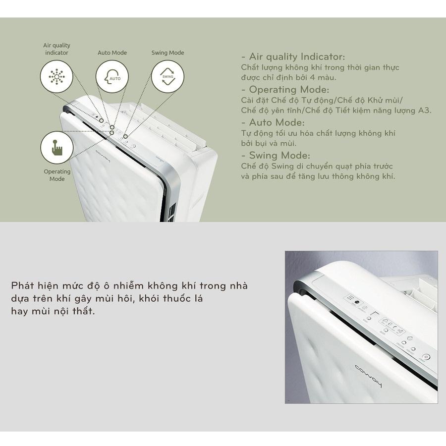 Tác dụng của máy lọc không khí trong phòng ngủ